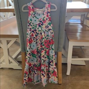 Gorgeous floral dress from Hanna Andersson